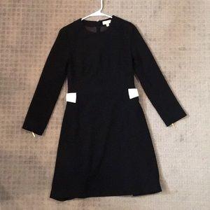 Ted Baker Long Sleeve Mini A-Line Dress